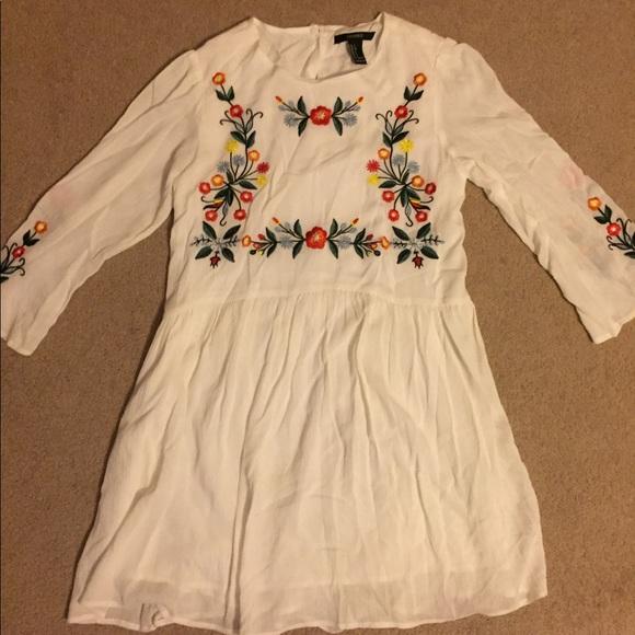 Forever 21 Dresses & Skirts - •Forever 21• Embroidered Dress